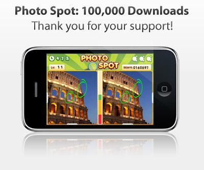 Photo Spot 100,000 Downloads