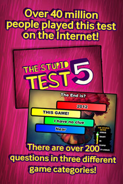 The Stupid Test for iPhone